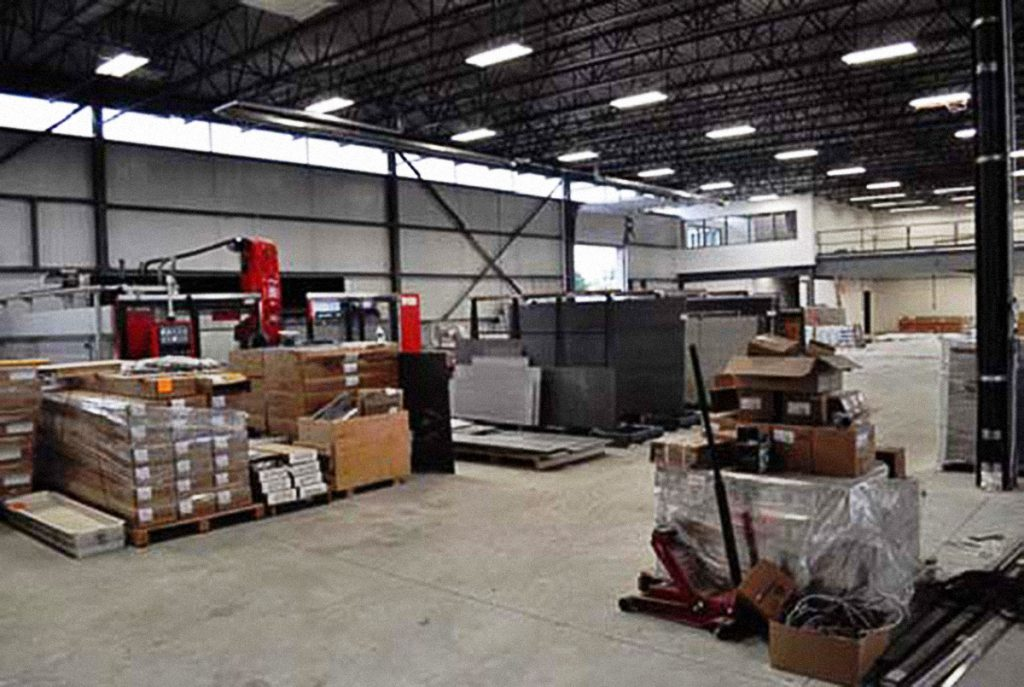 Shipping and warehouse area - 530 Admiral Dr., London ON
