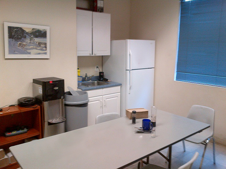 700 Sovereign Rd - lunch room