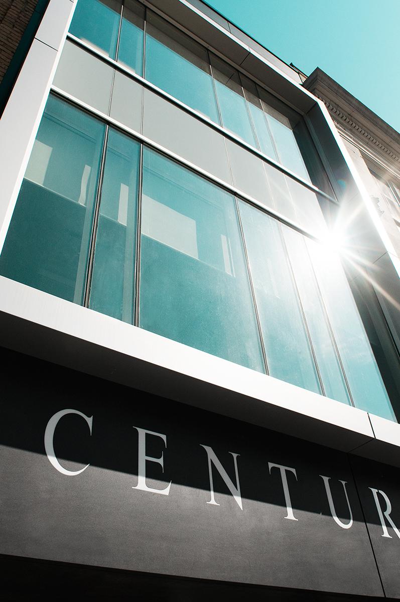 192 - 194 Dundas Street - exterior closeup of Century building