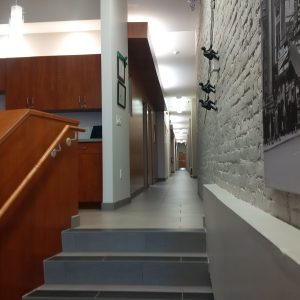 Century Building - stairs and hallway